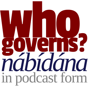 Who Governs Podcast now on iTunes