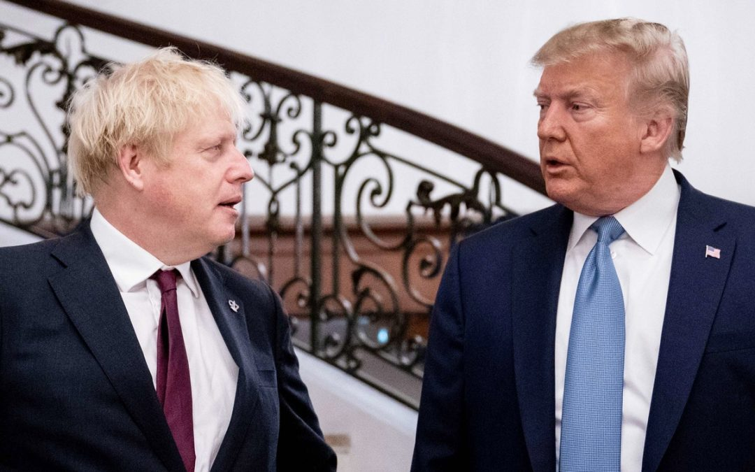 Trump should be finished; Johnson has about a month to get a grip.